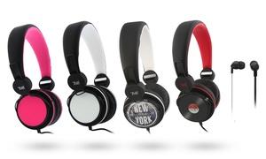 Casque ou écouteurs stéréo