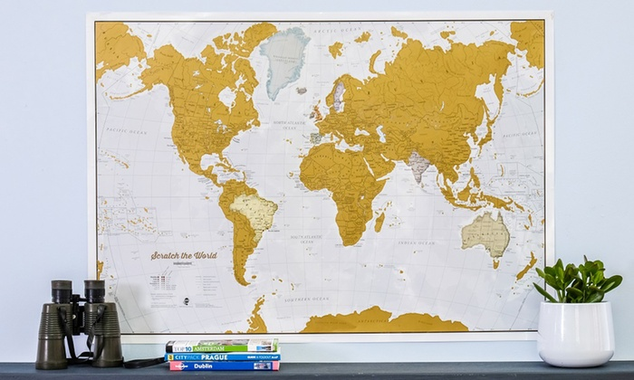Scratch the world map groupon scratch the world map gumiabroncs Choice Image