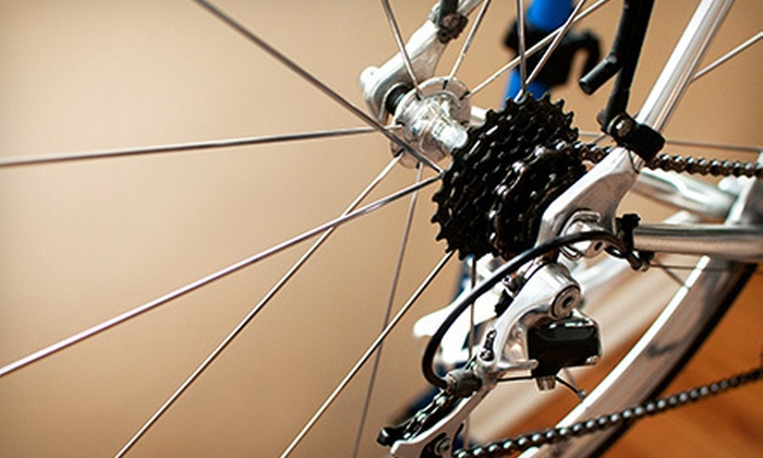 Salt Cycles - Sandy: Deluxe Bike Tune-Up or Accessories, Apparel, and Nutritionals at Salt Cycles (Half Off)