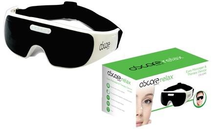 Appareil de massage de la zone contour des yeux apportant bien être, relaxation et soin, avec 9 modes de massage