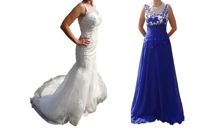 Vestido de novia o de noche | Groupon