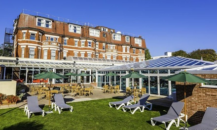 Bournemouth: Double Room for Two with Breakfast, Wine, Pool Access and Optional Dinner at Bournemouth Westcliff Hotel