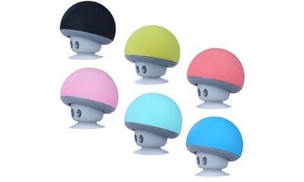 1 o 2 speaker Bluetooth a forma di funghetto disponibili in vari colori
