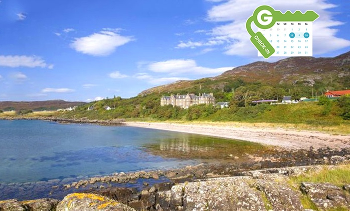 Scottish Highlands: Stay with Breakfast and Option for Dinner at Gairloch Hotel