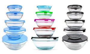 Glass Bowl Set (10-Piece) at Glass Bowl Set (10-Piece), plus 6.0% Cash Back from Ebates.