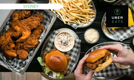 $3 for $17.50 to Spend on Food Delivery with UberEATS, Sydney -  New Users Only