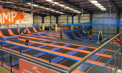 image for One-Hour Trampoline Jumping Session for One, Two or Four at Top Jump (Up to 33% Off)