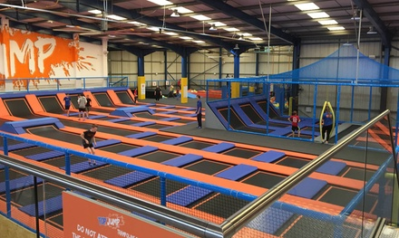 One-Hour Trampoline Jumping Session for One, Two or Four at Top Jump (Up to 33% Off)