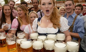Oktoberfest: Nottingham Oktoberfest Standard Package for Up to Four (Up to 58% Off)