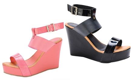 Natural Breeze Women's Wedge Heels at Urban Envy Shoe Boutique