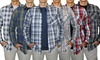 Bruno Men's Button Down Shirts with Free T-shirt: Bruno Men's Button Down Shirts with Free T-shirt