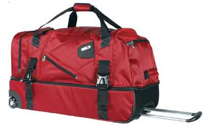 052f73ef6c Shop Groupon FUL Tour Manager Rolling Duffel Bag