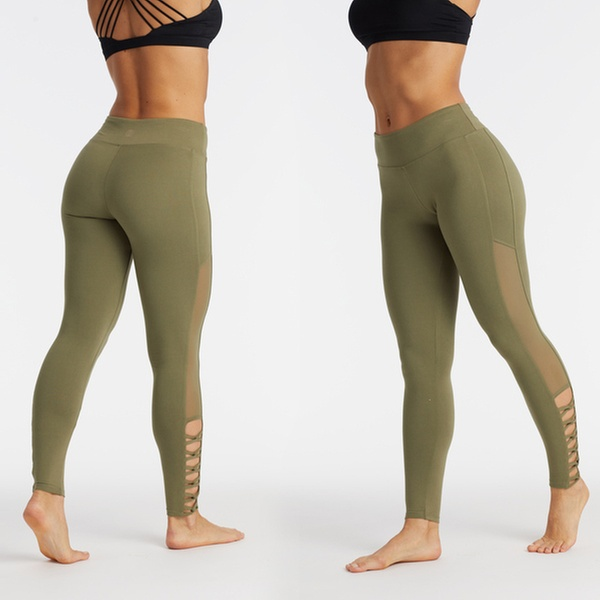 023ddd88a7ef2 Marika Balance Collection Women's Mesh Cut-Out Leggings | Groupon