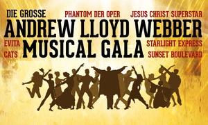 """Highlight Concerts: 2 Tickets für """"Die große Andrew Lloyd Webber Musical Gala"""" in Magdeburg, Kiel, Lübeck oder Hamburg (bis zu 39% sparen)"""