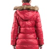 Women's Quilted Long Jacket with Removable Hood (Sizes XS & S)