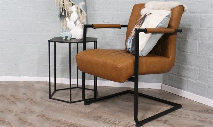 Vintage fauteuil groupon goods