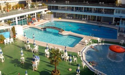 Ingresso illimitato alle piscine con acqua termale e Spa da 90 minuti per una o 2 personeal Centro Benessere Columbus