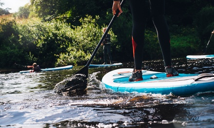 Paddleboarding for Two