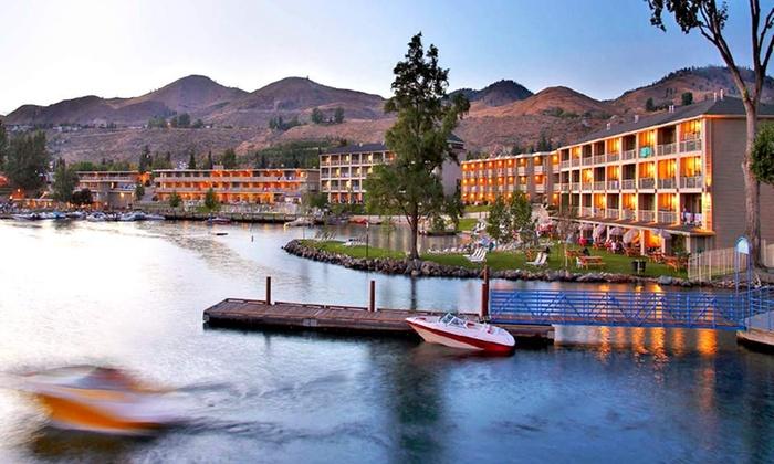 Campbell's Resort on Lake Chelan - Chelan, Washington: 1-Night Stay at Campbell's Resort on Lake Chelan in Chelan, WA