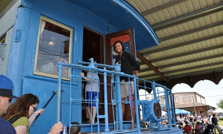 Admissions for Two, Four, Six People at Rosenberg Railroad Museum (Up to 33%)