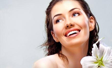 One or Three Basic Facials with Optional Accompanying Eyebrow and Lip Waxes at Elan Hair Salon and Spa (Up to 62% Off)