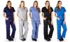 Women's Super-Soft Junior-Fit Scrubs: Women's Super-Soft Junior-Fit Scrubs