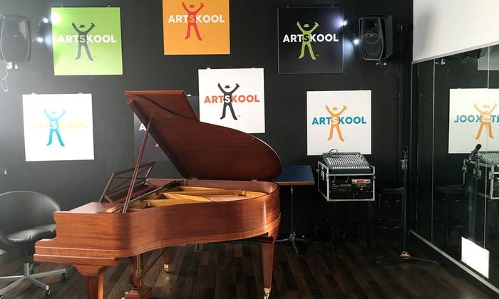 5 o 10 lezioni di musica da un'ora a scelta con Artskool (sconto fino a 83%)