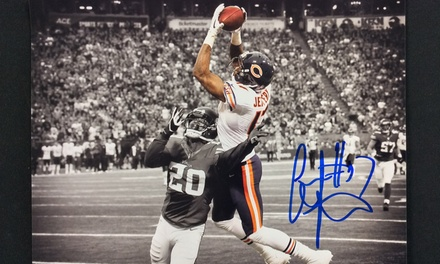 Signing Event and Photo Op with Chicago Bears Alshon Jeffery or Jon Bostic on December 30 (Up to 58% Off)