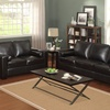 West Hampton Leather 3-Piece Living-Room Set