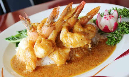 $16 for $25 Worth of Thai Dinner Cuisine for Two or More at Thai Chili