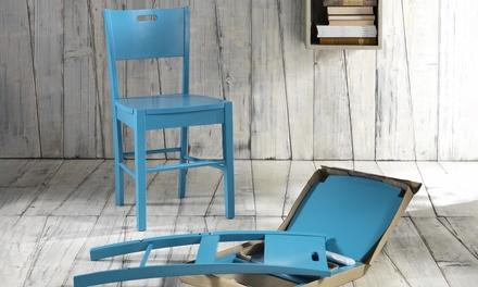 Sedie o sgabelli di legno