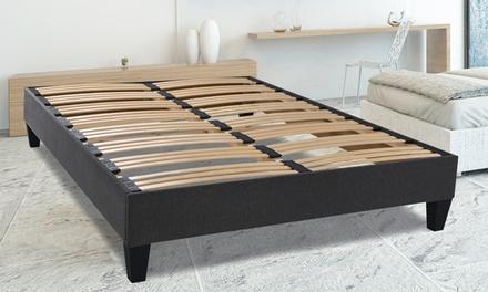 sommier 5 zones de confort avec pieds france deals coupons. Black Bedroom Furniture Sets. Home Design Ideas