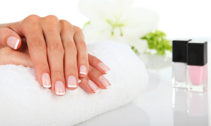 Always Perfection - Cuyahoga Falls: Two Manicures with Sugar or Salt Scrub or One Shellac Manicure at Always Perfection (Up to 50% Off)
