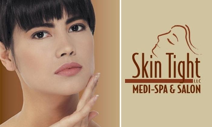 Skin Tight Medi-Spa & Salon - Lisbon: Three Laser Hair-Removal Treatments at Skin Tight Medi-Spa & Salon. Choose from Three Treatment Areas.