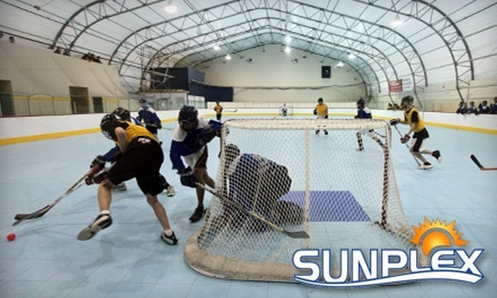 Sunplex Sports Arena - Central City: $10 for Three Drop-In Sessions at Sunplex Sports Arena ($21 Value)