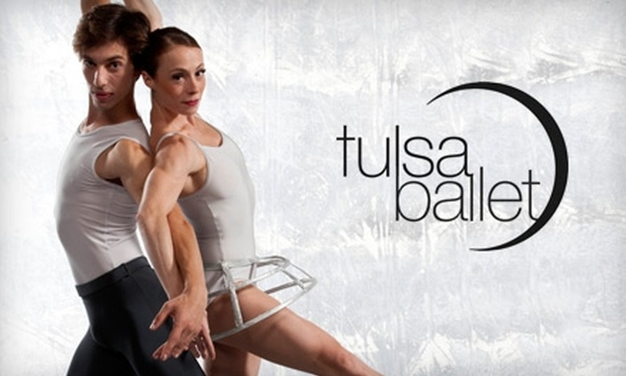 "Tulsa Ballet - Brookside: $20 for One Orchestra II Section Ticket to Tulsa Ballet's ""Classical Relativity"" Performance ($45 Value)"