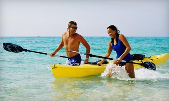 On The Beach Watersports - Fairfield: $20 for a Half-Day Kayak Rental for Two at On The Beach Watersports ($40 Value)