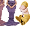 Mermaid-Tail Blanket with Hat