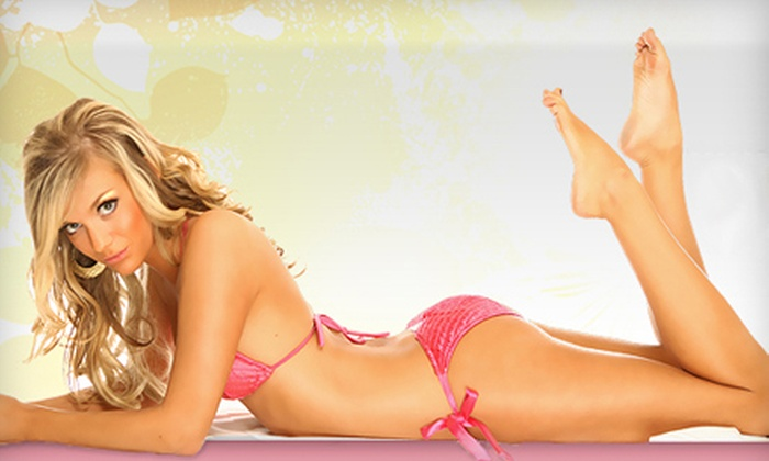 L.A. Tan - Multiple Locations: One Bed Tan or One Spray Tan at L.A. Tan