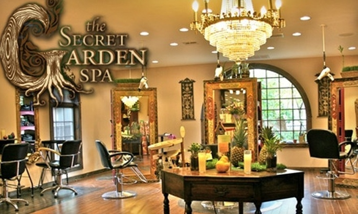 Secret Garden Spa - West Brighton: $49 for a 60-Minute Aromatherapy Massage and 30-Minute Infrared Detox Sauna Session ($119.76 Value) or $49 for a Haircut and Hair Color ($119.76 Value) at Secret Garden Spa