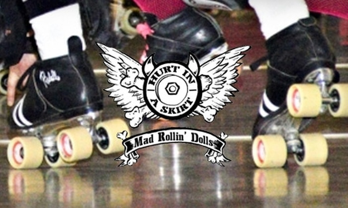 Mad Rollin Dolls - Madison: $10 for Two Tickets to the Mad Rollin' Dolls Roller Derby Season Opener