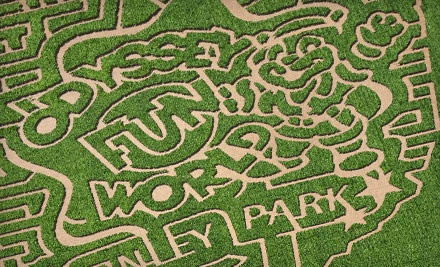 Admission for 2 (a $20 value) - Odyssey Fun Farm Pumpkin Patch and Corn Maze in Tinley Park