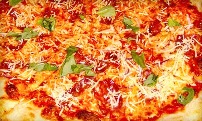 Ah Beetz New York Pizza - Highway 11: $8 for $17 Worth of Pizza and Drinks at Ah Beetz New York Pizza