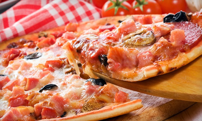 Lookout Bar & Grill - Reading: $18 for Two Large Specialty Pizzas and One-Dozen Wings at Lookout Bar & Grill ($37.85 Value)