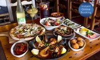 $49 for $100 to Spend on Food and Drinks at Spanish Tapas Restaurant, Glebe