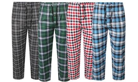 Lot de 2 bas de pyjamas, couleur aléatoire, taille au choix