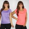 $24.99 for 3 Weekend by Marika Ruffle T-Shirts