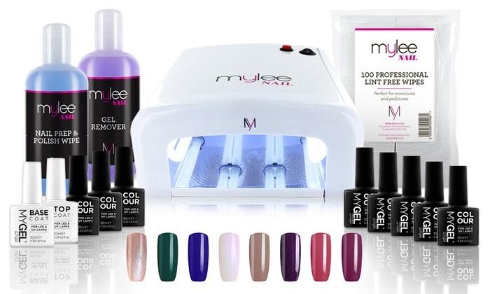 Mylee 36W UV Lamp with Optional Gel Nail Essentials Kit (£15.99)