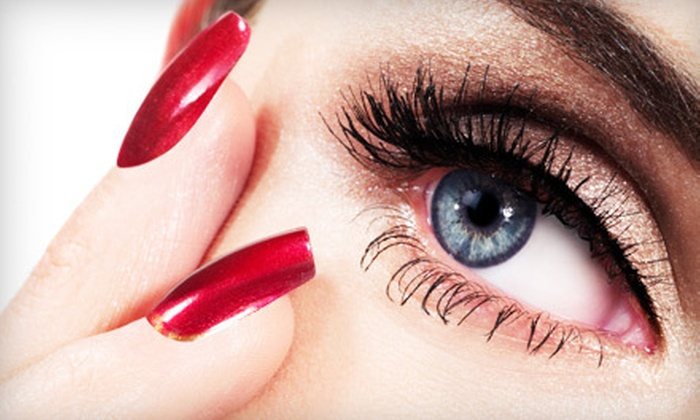 Forever Young Cosmetic Spa - Glen Ellyn: Full Set of Faux-Mink Lash Extensions or Extension Touch-Up at Forever Young Cosmetic Spa in Glen Ellyn (Up to 75% Off)