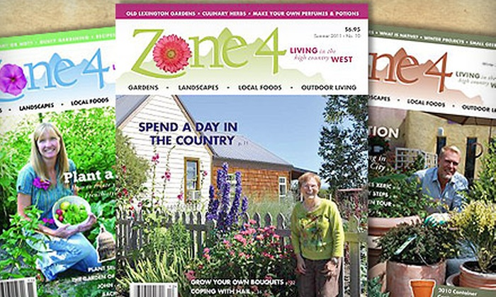 """Zone 4 magazine - Boise: $12 for a One-Year Subscription to """"Zone 4"""" Magazine ($24 Value)"""